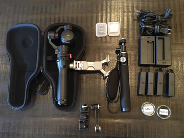 Rent: DJI Osmo Handheld 4K Camera and 3-Axis Gimbal & accs