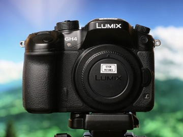 Rent: Panasonic Lumix DMC-GH4 Digital Camera (with V-log)
