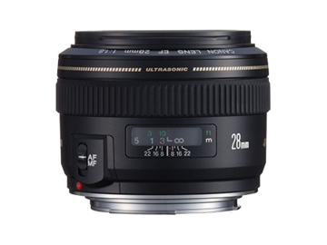 Rent: Canon EF 28mm f/1.8 USM Lens