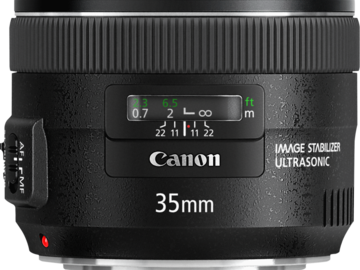 Rent: Canon EF 35mm f/2.0 IS USM Lens