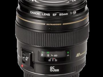 Rent: Canon EF 85mm f/1.8 USM Lens