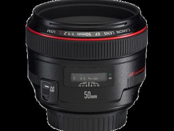 Rent: Canon 50mm f/1.4 L Prime
