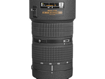 Rent: Nikon Nikkor Zoom 80-200mm f2.8 ED Lens