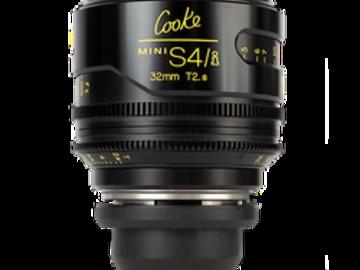 Rent: Cooke 32mm T2.8 Mini S4/i Lens