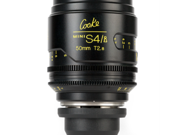 Rent: Cooke 50mm T2.8 Mini S4/i Lens