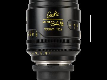 Rent: Cooke 100mm T2.8 Mini S4/i Lens