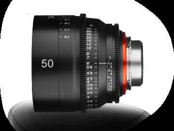Rent: Rokinon Xeen 50mm T1.5 EF Mount Lens