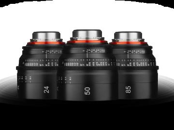 Rent: Rokinon Xeen T1.5 EF Mount 3 Lens Set