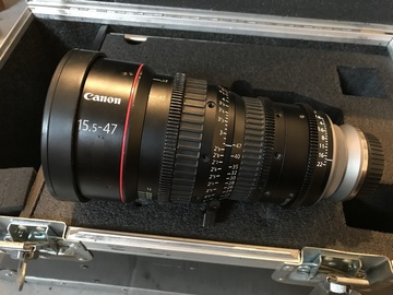 Rent: Canon CN-E 15.5-47mm T2.8 L S (EF or PL mount)