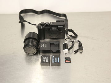 Rent: Panasonic Lumix DMC-GX8 Digital Camera W/ 45-150 LENS