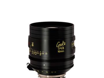 Rent: Cooke 16mm S4/i 2.0 Prime Lens