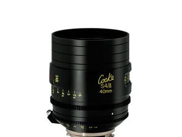 Rent: Cooke 40mm S4/i 2.0 Prime Lens