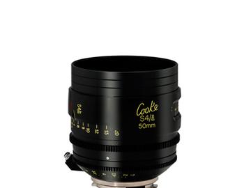 Rent: Cooke 50mm S4/i 2.0 Prime Lens