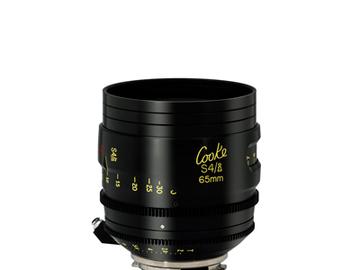 Rent: Cooke 65mm S4/i 2.0 Prime Lens