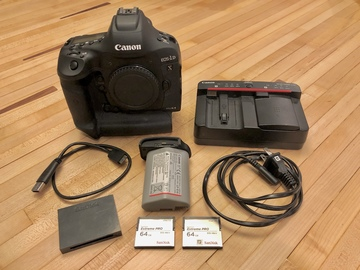 Rent: Canon EOS-1D X Mark II Kit