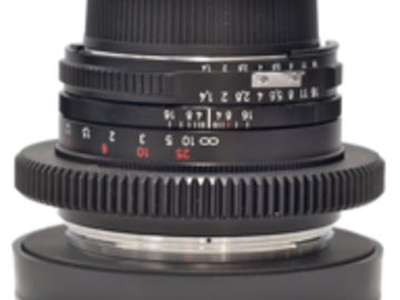 Rent: Nikon Nikkor Duclos Cine-Mod 28mm f3.5 Lens