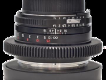 Rent: Nikon Nikkor Duclos Cine-Mod 50mm f1.4 Lens