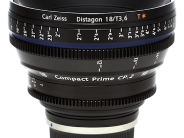 Rent: Zeiss Compact Prime CP.2 18mm f3.6 EF/PL Lens