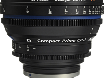 Rent: Zeiss Compact Prime CP.2 25mm f2.9 EF/PL Lens