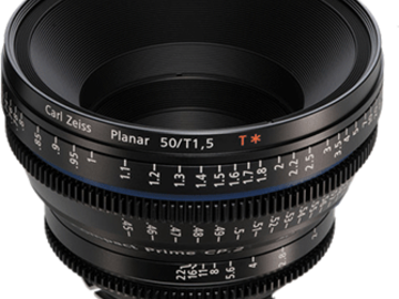 Rent: Zeiss Compact Prime CP.2 50mm t2.1 EF/PL Lens