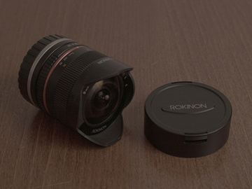 Rent: Rokinon 8mm f/2.8 UMC Fisheye II Lens for Sony E Mount (Blac