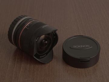 Rent: Rokinon 8mm f/2.8 UMC Fisheye II Lens for Sony E Mount (Blac