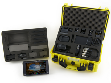Rent: Atomos Shogun 4K External Recorder 1456GB + Batteries