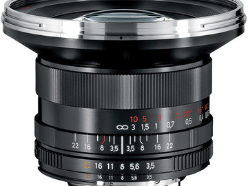 Rent: Zeiss 18mm F/3.5 ZF.2 Lens