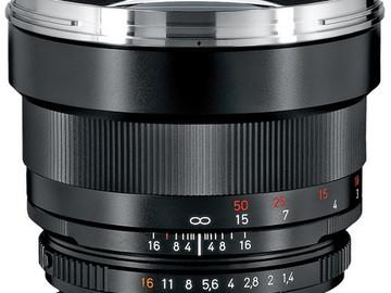 Rent: Zeiss 85mm f/1.4 ZF.2 Lens