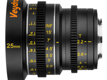 Rent: Veydra Micro 4/3 Mini Prime 25mm f2.2 Lens