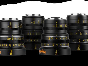 Veydra Micro 4/3 Mini Prime 4 Lens Set