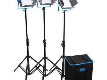 Dracast LED 500 S Series Bi Color- 3 light kit