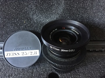 Rent: CineMod Zeiss ZF.2 25mm f/2.8 T* Nikon F Mount/Canon EF