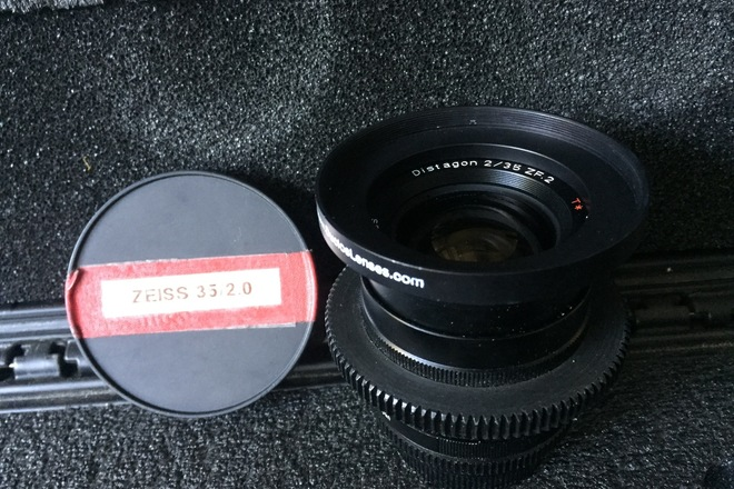 CineMod Zeiss ZF.2 35mm f/2.0 T* Nikon F Mount/Canon EF
