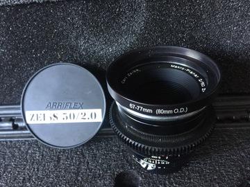 CineMod Zeiss ZF.2 50mm Macro f/2 T* Nikon F Mount/Canon EF