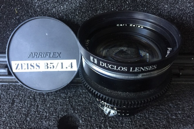 CineMod Zeiss ZF.2 85mm f/1.4 T* Nikon F Mount/Canon EF