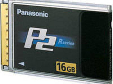 Rent: Panasonic 16GB P2 High Performance Card