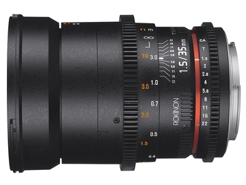 Rent: Rokinon Cine 35mm T1.5