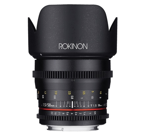 Rokinon Cine DS 50mm T1.5