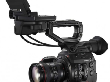 Rent: x2 Canon EOS C300 Mark II Cinema Camera w/x4 L-series zooms