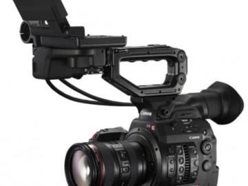 Rent: x2 Canon EOS C300 Mark II Cinema Camera w/x4 L-series zooms