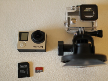 Rent: GoPro Hero4 Black Edition (32GB MicroSD Included)