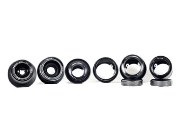 Zeiss Contax speed prime kit (6 lenses)
