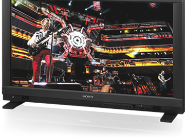 "Rent: Sony PVMA250 25"" Professional OLED Production Monitor"