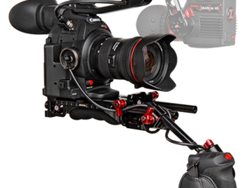Rent: Zacuto Shoulder Rig with VF and Side Handle