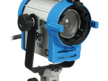 Rent: Arri 150 Watt Tungsten Fresnel Light