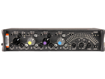 Rent: Sound Devices 442 Four Channel Audio Field Mixer