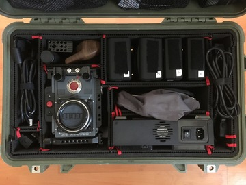 Rent: RED Scarlet-W Dragon 5k package with support