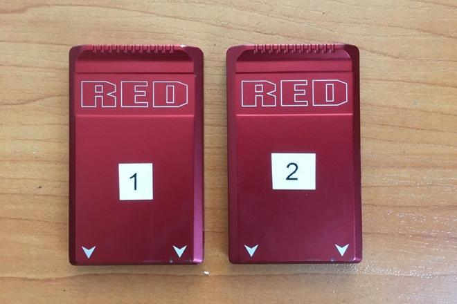 (2) RED Mini-Mag - 480gb