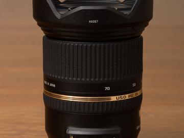 Rent: Tamron SP 24-70mm f/2.8 Di VC USD